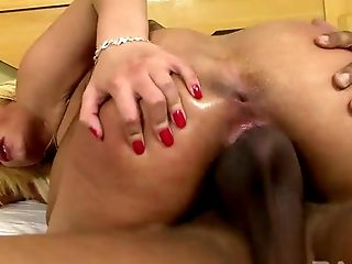 Busty Latina hoe Carol Castro takes her lover's big cock to the hilt