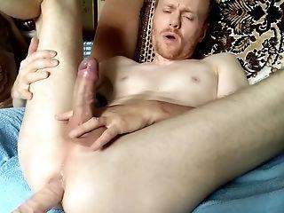 LanaTuls - Ass fingering, machine fucked and cumming