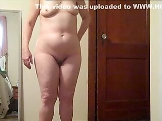 Stripping And Posing Nude #2