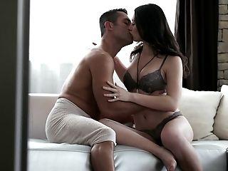 Babe, Beauty, Bold, Couch, Cute, European, Horny, Natural Tits, Panties, Ukrainian,