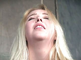 Samantha Rone is bound hand and foot and her bomb ass pussy is so vulnerable