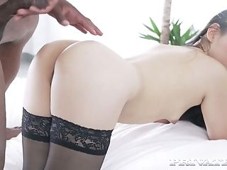 Sensual Asian hottie Katana does everything your lust desires