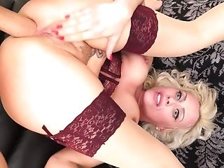 Crazy Czech hoe Brittany Bardot gets her anus holed after a deepthroat blowjob