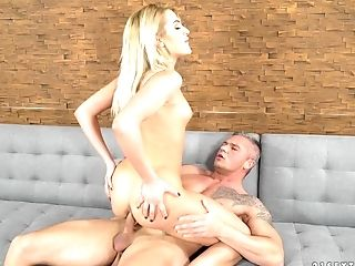 Cherry Kiss' anal hole fucked well by a skillful stallion