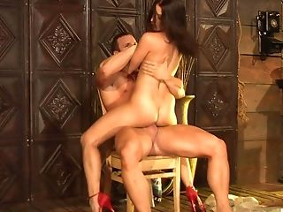 Mature woman Ann Marie spreads her legs for passionate love-making