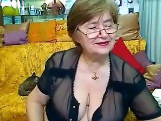 Big Tits, Brunette, Granny, Homemade, Solo, Webcam,