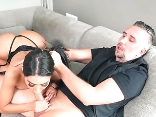 Babe, Beauty, Big Ass, Big Tits, Blowjob, Brunette, Couch, Cowgirl, Cumshot, Doggystyle,