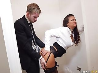 Susy Gala is the secretary who just wants her face creamed