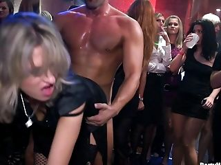 No one is spared,every chick gets drilled hardcore,what an appealing orgy