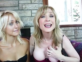 Nasty Natasha Voya and her friend get to please each other's cunts