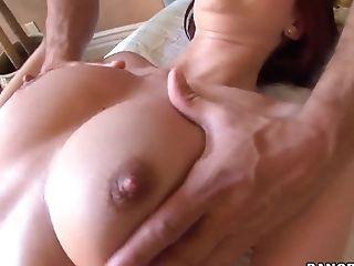 Sexylicious Amy Reid gets fucking massaged!