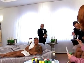 Fabulous pornstars Sharka Blue, Renata Black and Lea Caster in horny fetish, lingerie porn video