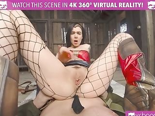 VR BANGERS Recover with powerful wonder woman