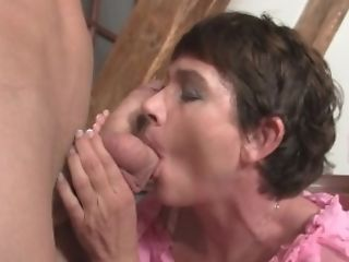 Fucking horny mother inlaw from behind