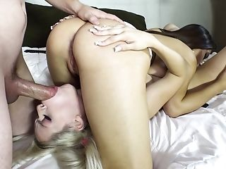 Young slut for a kinky couple