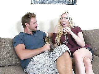 Levi Cash attacks dangerously horny Valerie FoxS muff pie with his love torpedo
