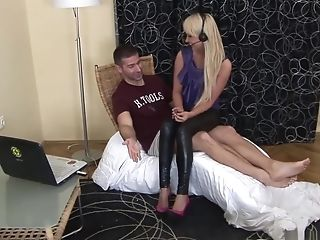 Best pornstar Amelie Pure in incredible foot fetish, anal adult clip