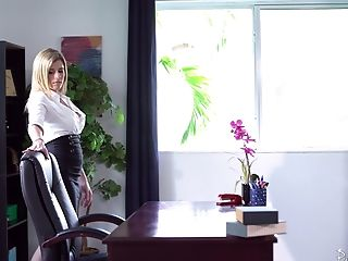 Hot Cory Chase likes to ride a dick while her big tits bounce