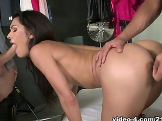 Fabulous pornstar in Exotic Latina, Redhead sex scene